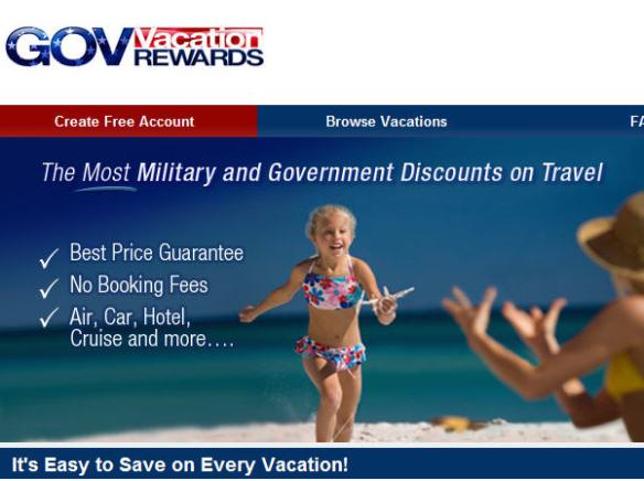 Gov Vacation Rewards