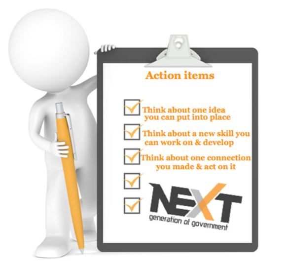 Action Items from NextGen Conference