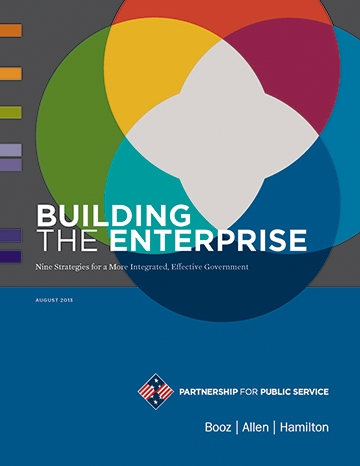New Partnership for Public Service Report - Building the Enterprise