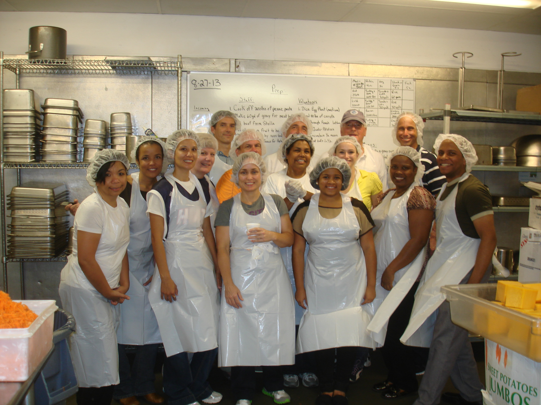 DHS Employees Volunteer at DC Central Kitchen | DHS Employee Network