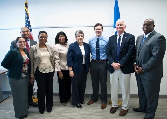 DEL Board and Secretary Napolitano