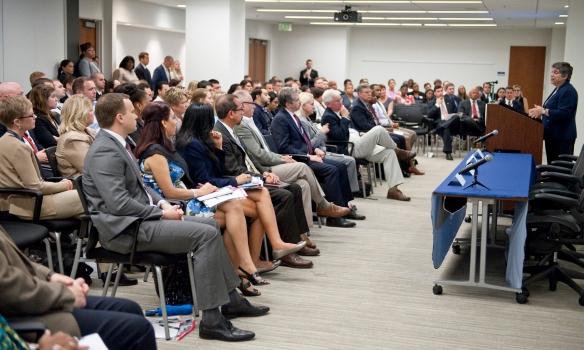 DEL Members Meet with Secretary Napolitano