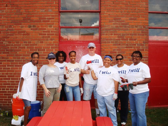 DEL Members Volunteer for 9/11 Day of Service