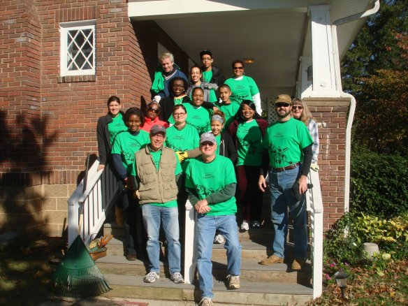 DHS Employees Participate in VolunteerFest