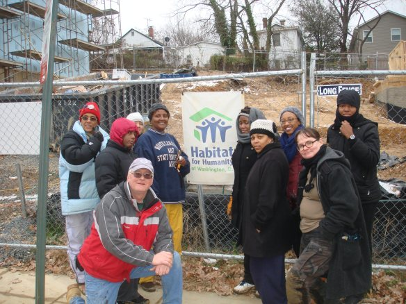 DHS Employees Volunteer with Habitat for Humanity - DC