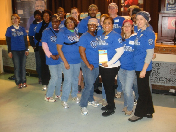 DHS Employees Volunteer on MLK Day of Service