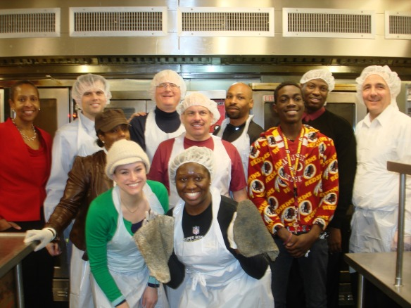 DHS Employees Volunteer at DC Central Kitchen