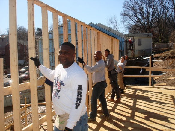 DHS Employee Volunteer with Habitat for Humanity - DC