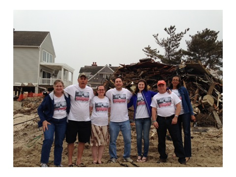 DHS Employees Volunteer to Help Super Storm Sandy Victims Rebuild in New Jersey