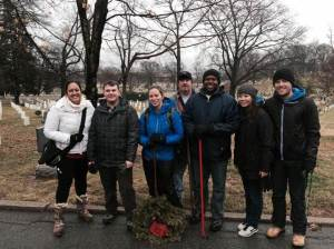Wreath Cleanup 2015 - FEMA