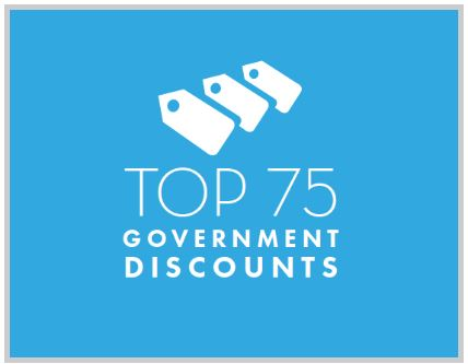 Top 75 Government Discounts