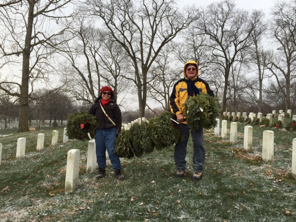 Wreath Cleanup 2016